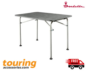 Isabella Light Weight Table 90 x 140 cm - Foldable - Rounded Corners - 700006275