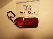-1980 THRU 1987 JAGUAR XJ6 RIGHT REAR PARK LAMP ASSEMBLY.USED.