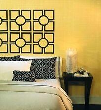 Room Mates Oriental Squares Peel & Stick Mural Appliques RMK1350GM
