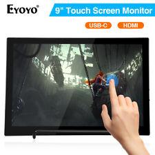 "Eyoyo 8.9"" Touch Screen USB C HDMI Monitor 1920x1200 IPS Display for Huawei PS4"