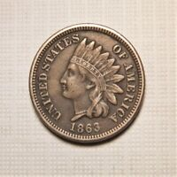 1863 Copper-Nickel Indian Head Cent