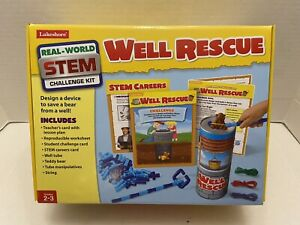 Lakeshore Real World Stem Challenge WELL RESCUE Grades 2-3
