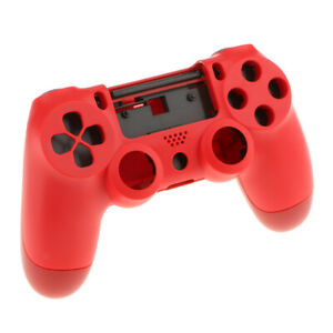 For Sony PS4 Pro Controller Protector Shell Case Skin Cover Arc Handle Red