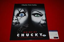 sexy JENNIFER TILLY poker signed PSA/DNA 11X14 photo bride of chucky 9