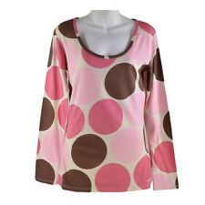 Señoras piedra pómez de manga larga T-Shirt por animal (tamaño 10) RRP £ 24.99