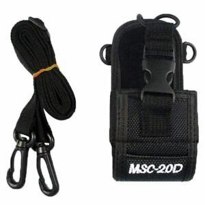 2X(Beutel Tasche Holster Hülle Für GPS PMR446  Funkgerät Walkie Talkie (SchZ5I4)