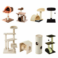 Cat Tree Scratching Post Climb Playing House Activity Center Climbing Furniture