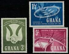 Ghana postfris 1961 MNH 103-105 - Conference of non alied Countries