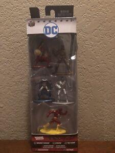 Nano Metalfigs DC Comics 5 pk *Batman/Wonder Woman/Cyborg/Parademon/The Flash*