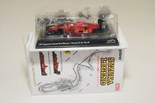 V 1:64 111 KYOSHO SUZUKA LEGEND FERRARI F1-87 #28 GRAND PRIX WINNER MINT BOXED