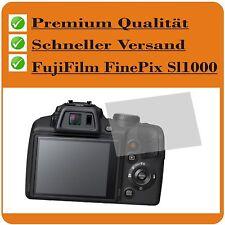 4x Fujifilm Finepix SL1000 testsieg Film Protecteur Film de protection d'ecran