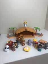 Fisher Price Little People Childrens Nativity Set, A Christmas Story, Works!