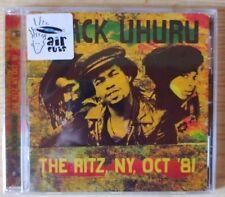 Black Uhuru – The Ritz, NY, Oct '81 - LIVE  CD sigillato (sealed)