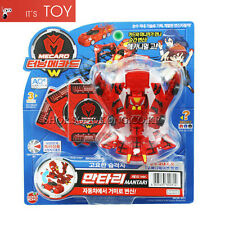 Turning Mecard W MANTARI Red Ver Spider Transformer Robot Car Toy Korea Sonokong