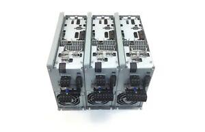 3x Danfoss FC 302P2K2T5E20H1BG Frequenzumrichter Out 3x0 Vin 0 1000Hz 5 6 4 8A