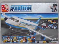 Sluban Aviation Building Blocks Plane 463pc M38-B0366