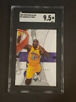 2004 Upper Deck Glass #25 Shaquille O'Neal SGC 9.5 Newly Graded PSA BGS