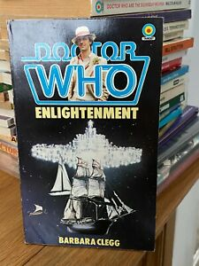 doctor who target book -  ENLIGHTENMENT -  1st edition