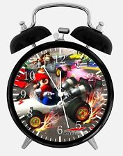 "Super Mario Alarm Desk Clock 3.75"" Home or Office Decor Z91 Nice For Gift"