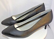 Pleaser  KITTEN-01 Pump Women's Black Faux Leather UK12