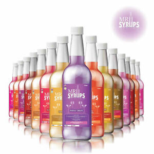 16 Exciting Flavours - 750ml Cocktail Syrup - Drink Syrup, Slush Flavours