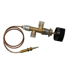 Propane Gas Heater Fire Pit Grill Main Control Valve with Thermocouple & Switch