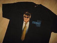 Rod Stewart Tee - Vintage 2001 Human Tour Pop Rock Band Concert T Shirt XLarge