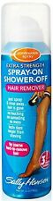 Sally Hansen Spray-On Shower-Off Hair Remover, Extra Strength 6 oz