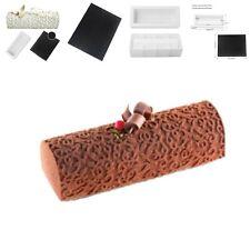 Arabesque Decorating Mat And Rectangular Box White Silicone Molds Mousse Cake UK
