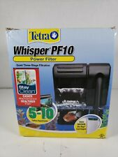 Tetra 26316 Whisper Filter PF10 5-10-Gallon Open Box