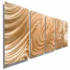 Copper Abstract Metal Wall Art Sculpture, Modern Metal Wall Decor - Jon Allen
