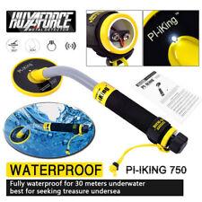 Pi-iking 750 Waterproof Underwater Metal Detector Pulse Induction Hand Held Us