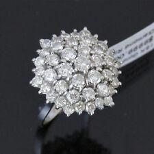 NYJEWEL 18k Solid Gold Brand New Spectacular 4ct Diamond Starburst Ring $9999