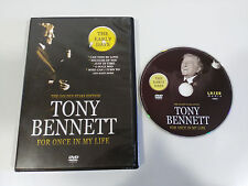 TONY BENNETT THE EARLY YEARS FOR ONCE IN MY LIFE GOLDEN STARS DVD REGION 0 ALL