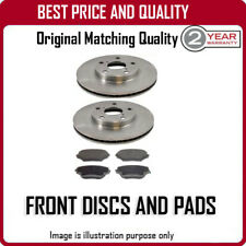 FRONT BRAKE DISCS AND PADS FOR HYUNDAI AMICA 1.1 3/2006-9/2008