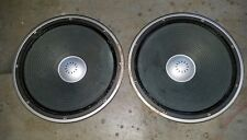 Vintage Original Sansui SP-X9700 speakers Woofers Pair