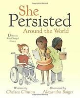 SHE PERSISTED AROUND THE WORLD - NEW BOOK