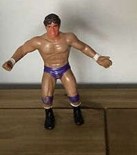 WWF 1980s LJN Tito Santana Wrestling Figure Played With WWE WCW
