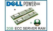 2gb (2x1gb) Memoria Ram de actualización de Dell PowerEdge 2900, 1950 III y 2950 III Servidor