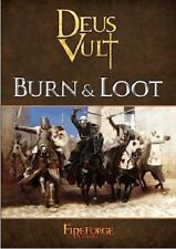 BURN & LOOT  DEUS VULT SUPPLEMENT  - FIREFORGE GAMES - 28MM - SHIPPING NOW