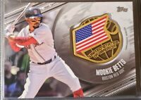 Mookie BETTS 2020 Topps BLACK Parallel /149 Global Game USA  Dodgers Red Sox