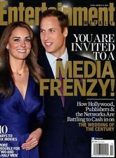 Entertainment Weekly Magazine 3/4/2011 Media PRINCE WILLIAM