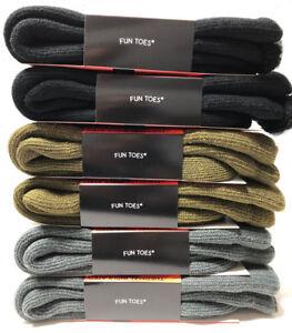 Men's Super Warm Heavy Duty Thick Thermal Winter Work Socks Lot  3 6 12 Pack