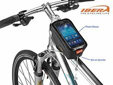 Bicycle Bike Top Tube iPhone Case Holder Pouch Bag Cycling Reflective Trim Tb8 1