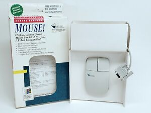 Mouse Systems-Serial Mouse(DB9 Pins) 2 Button -- New, Open-Box