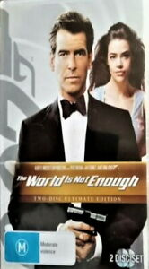 The World Is Not Enough DVD JAMES BOND 007 2-DISCS Ultimate Edition BRAND NEW R4