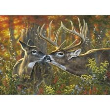 Diamond Paintings cross Diy Full 5D Twin Deers Handmade Kits Art Embroidery