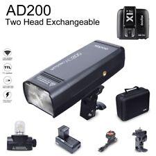Godox AD200 200W 2.4G TTL HSS Flash Speedlite with X1T-F Transmitter for Fuji