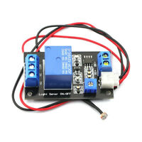 Photoresistor relay control module/optical switch/light sensor module DC12V
