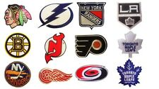 NHL, National Hockey league patches. Embroidered Iron Or Sew on patch.